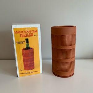 Vintage Terra Cotta Wine Cooler
